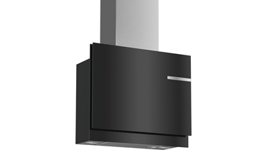 DWF67KM60 Serie 6 Duvar Tipi Davlumbaz 60 Cm Clear Glass Black Printed