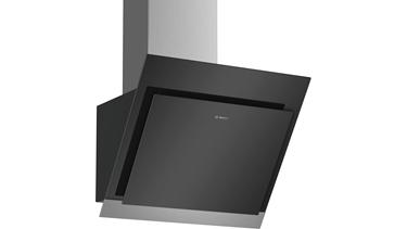 DWK67HM60 Serie 4 Duvar Tipi Davlumbaz 60 Cm Clear Glass Black Printed