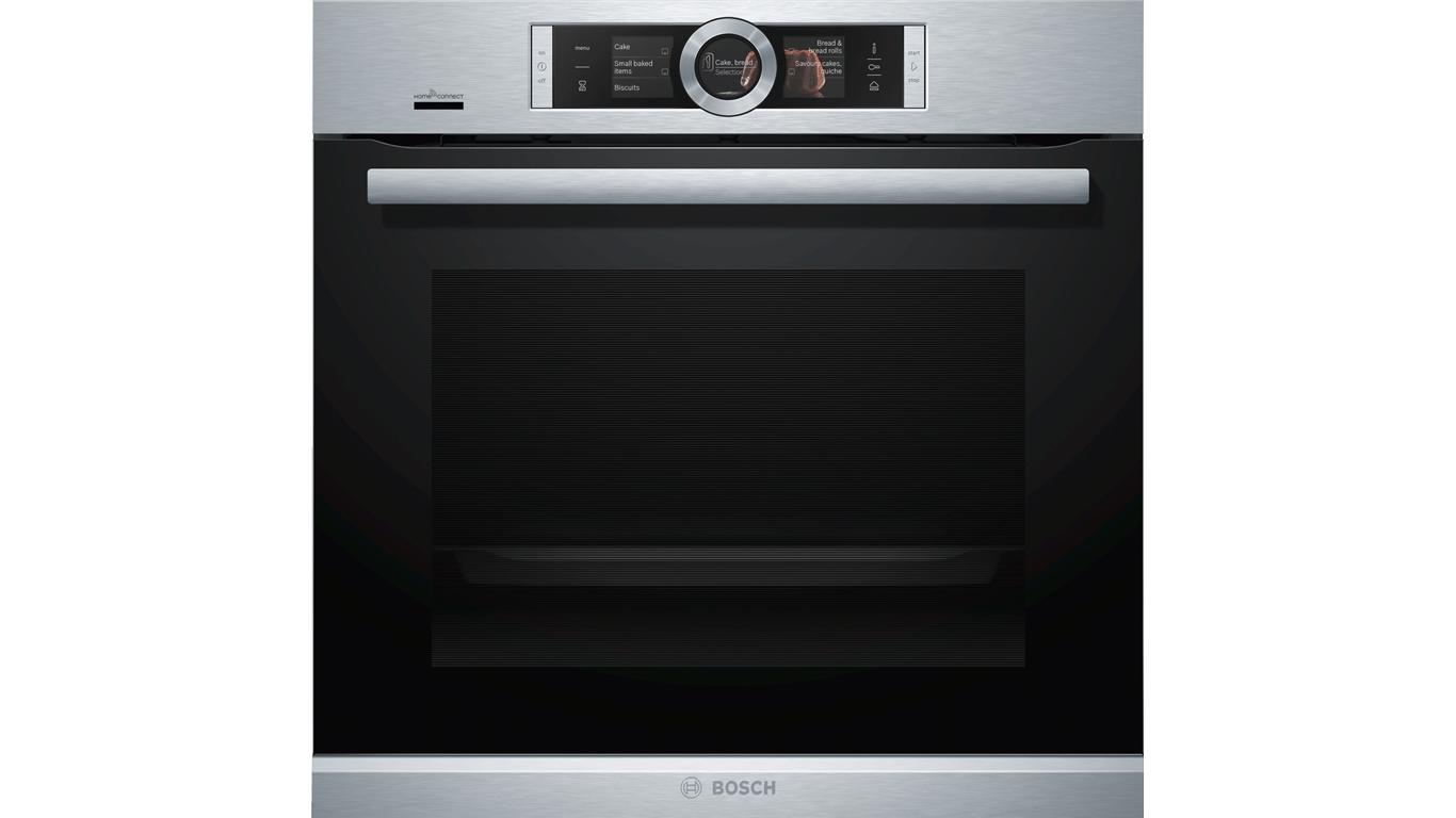 HRG636XS7 Serie 8 Buhar Fonksiyonlu Ankastre Fırın Paslanmaz Çelik,Pişirme Grubu Kategorisinde,Ankastre Fırınlar Ürünü.
