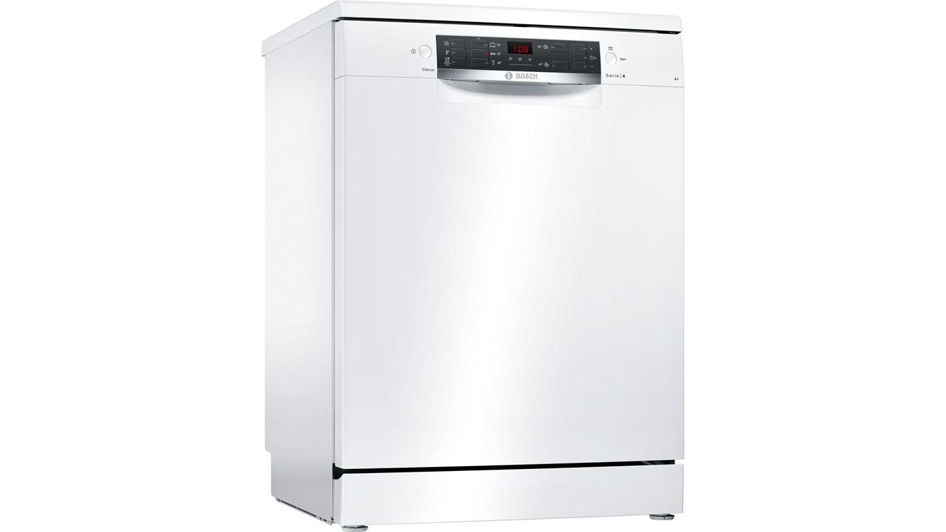 SMS45NW00T Serie 4 Solo 5 Program Bulaşık Makinesi 60 Cm Beyaz,Bulaşık Makineleri Kategorisinde,Solo Bulaşık Makineleri Ürünü.