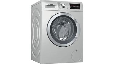 WAT2448STR Serie 6 Çamaşır Makinesi 9 Kg Silver İnox 1200 Devir