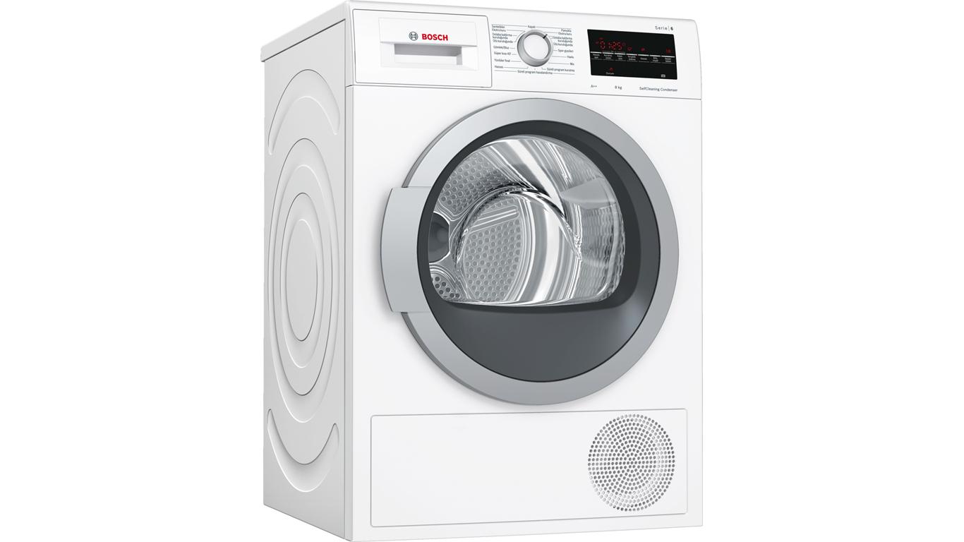 WTW85410TR Serie 6 Isı Pompalı Kurutma Makinesi 8 Kg,Çamaşır Makineleri Kategorisinde,Kurutma Makineleri Ürünü.