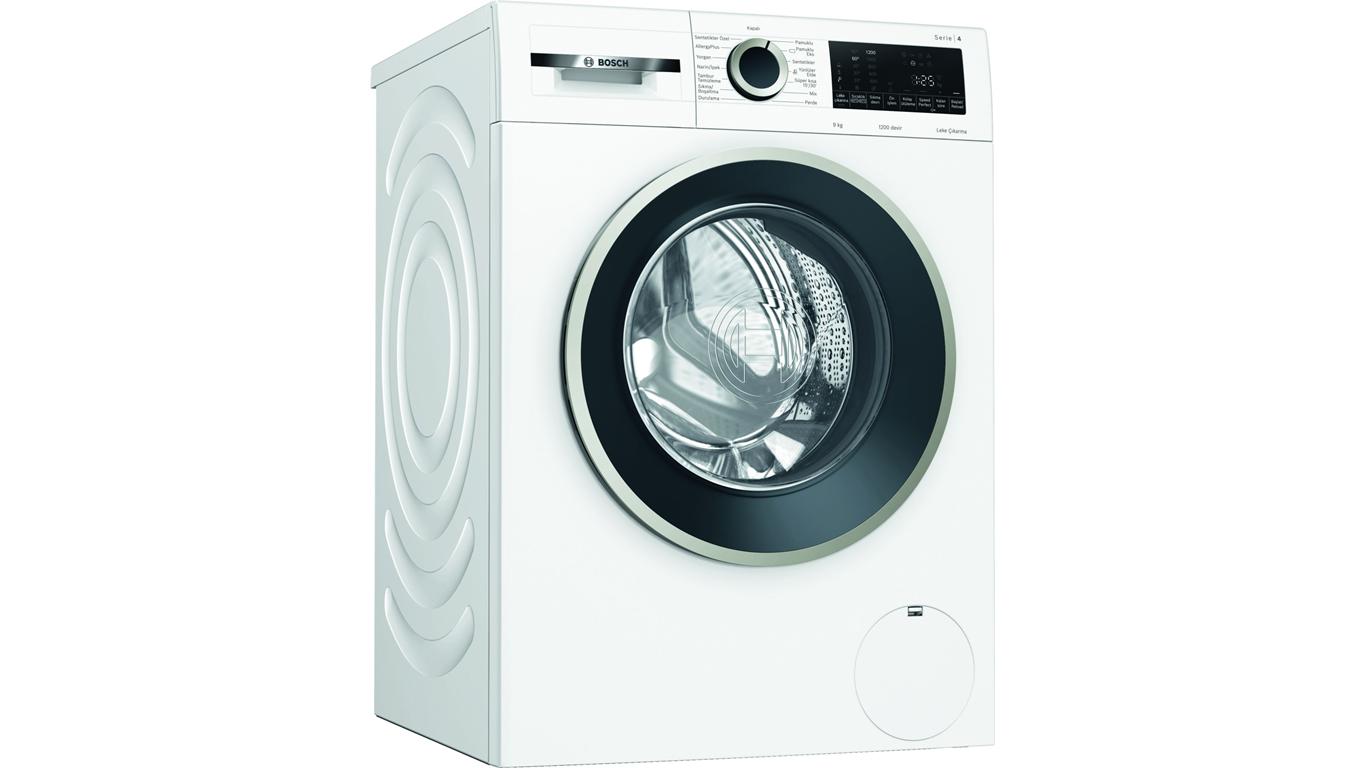 WGA142X0TR Serie 4 Çamaşır Makinesi 9 Kg 1200 Devir,Çamaşır Makineleri Kategorisinde,Çamaşır Makineleri Ürünü.