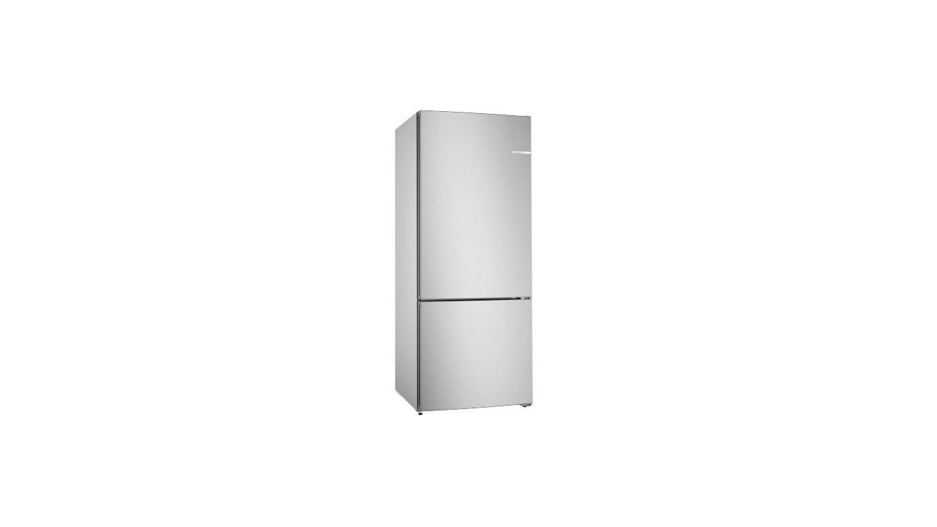 KGN76VIF0N NoFrost, Alttan donduruculu buzdolabı Kolay temizlenebilir inox kapılar,Buzdolapları Kategorisinde,Alttan Donduruculu Buzdolapları Ürünü.