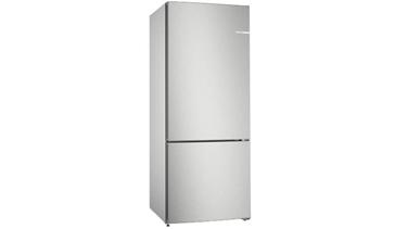 KGN76VIF0N NoFrost, Alttan donduruculu buzdolabı Kolay temizlenebilir inox kapılar