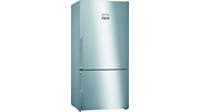 KGN86AIF0N NoFrost, Alttan donduruculu buzdolabı Kolay temizlenebilir inox kapılar