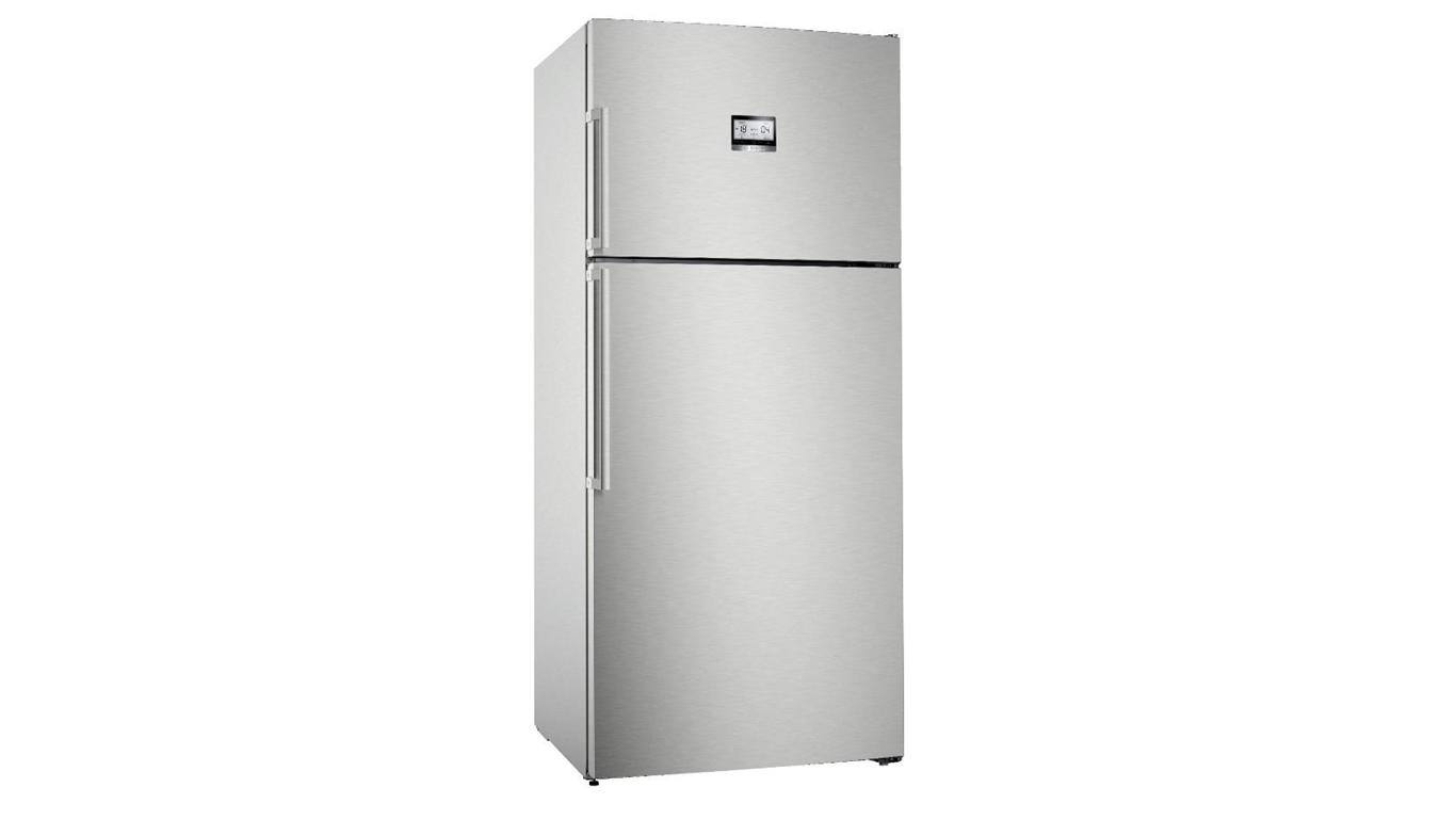 KDN76AIF0N NoFrost, Üstten donduruculu XL buzdolabı Kolay temizlenebilir inox kapılar,Buzdolapları Kategorisinde,Üstten Donduruculu Buzdolapları Ürünü.