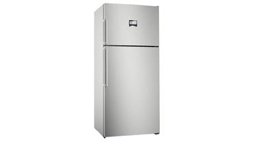 KDN76AIF0N NoFrost, Üstten donduruculu XL buzdolabı Kolay temizlenebilir inox kapılar