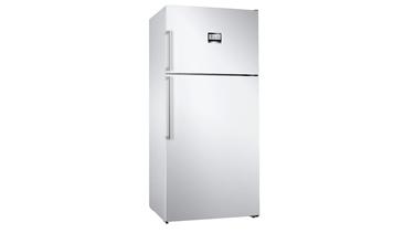KDN86AWF0N NoFrost, Üstten donduruculu XXL buzdolabı Parlak beyaz kapılar