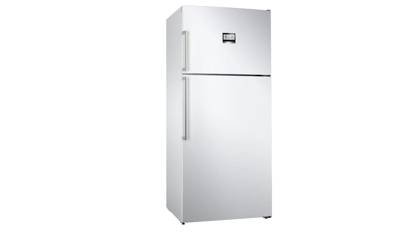 KDN76AWF0N NoFrost, Üstten donduruculu XL buzdolabı Parlak beyaz kapılar,Buzdolapları Kategorisinde,Üstten Donduruculu Buzdolapları Ürünü.