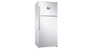 KDN76AWF0N NoFrost, Üstten donduruculu XL buzdolabı Parlak beyaz kapılar