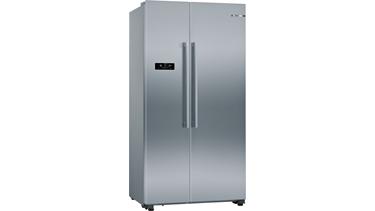 KAN93VL30N Nofrost Gardırop Tipi Buzdolabı Paslanmaz Çelik Görünüm