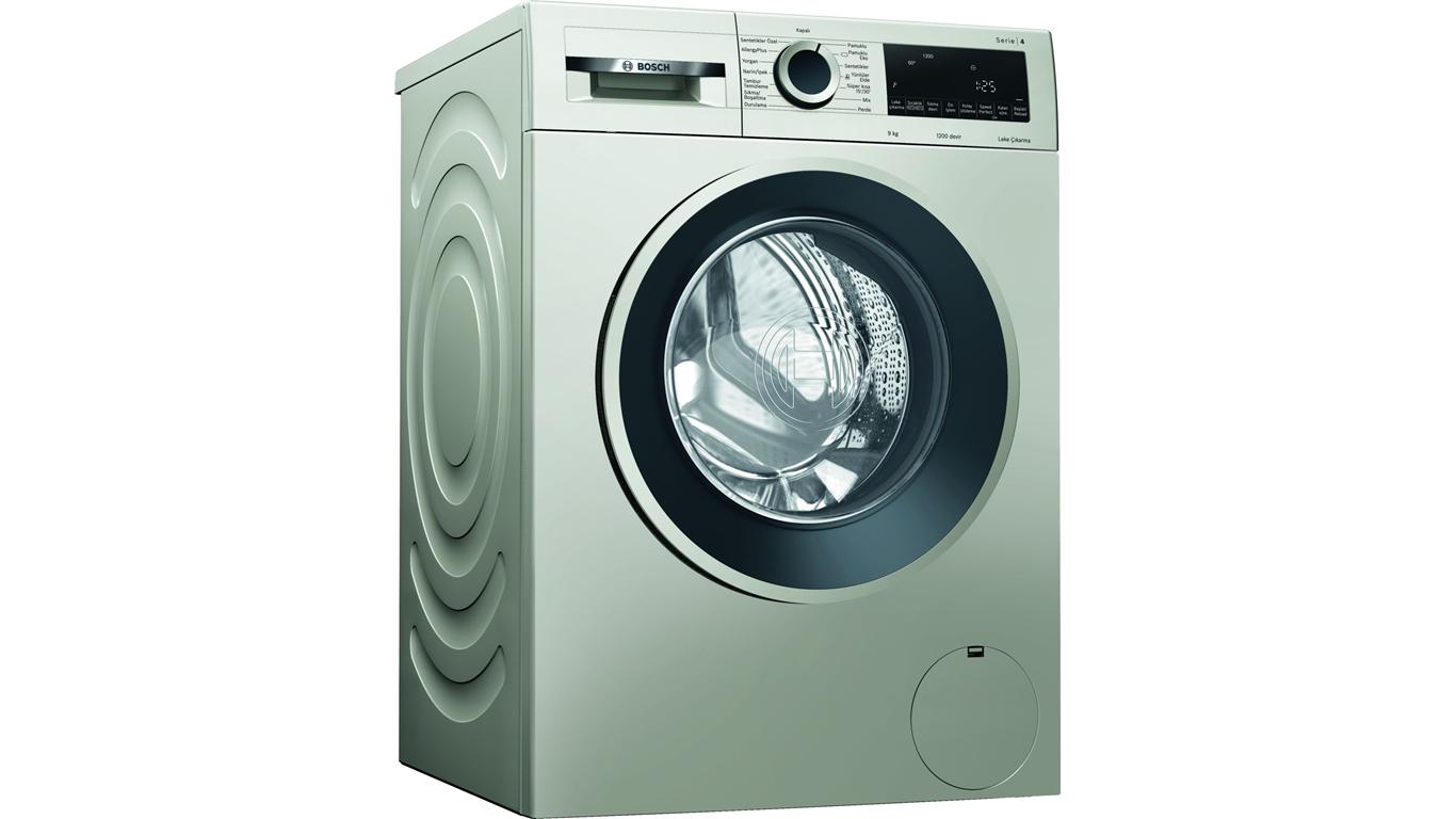 WGA142XVTR Çamaşır Makinesi 9 Kg 1200 Devir Gümüş,Çamaşır Makineleri Kategorisinde,Çamaşır Makineleri Ürünü.