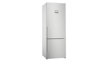 KGN56AIF0N NoFrost, Alttan donduruculu buzdolabı Paslanmaz çelik