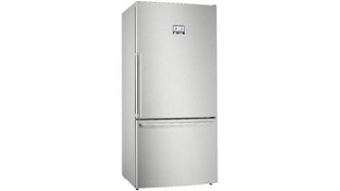 KGB86AIF0N NoFrost, Çekmeceli XXL Alttan donduruculu buzdolabı Inox