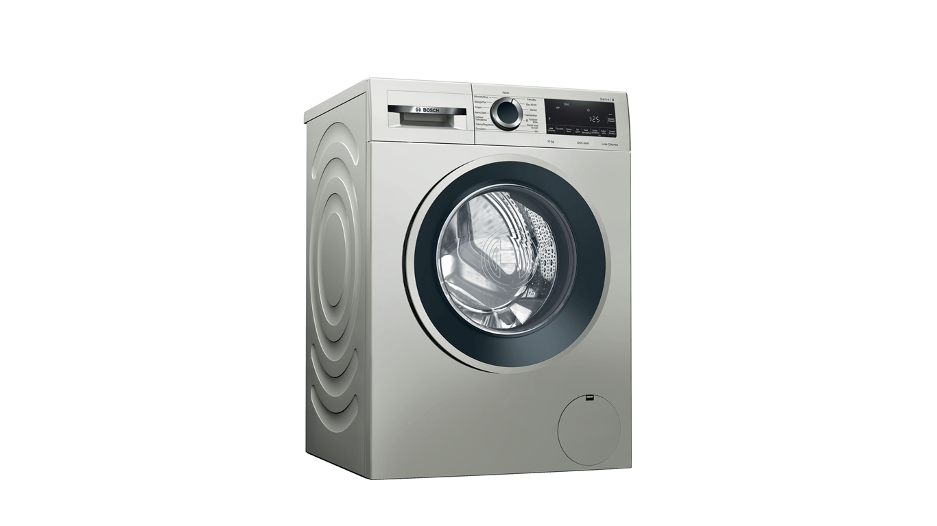 Bosch WGA252XVTR 10 Kg 1200 Devir İnox Çamaşır Makinesi,Çamaşır Makineleri Kategorisinde,Çamaşır Makineleri Ürünü.