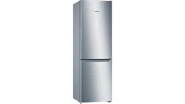 Bosch KGN36NLE0N Alttan Donduruculu Buzdolabı. 186 X 60 Cm. Paslanmaz Çelik Görünüm.