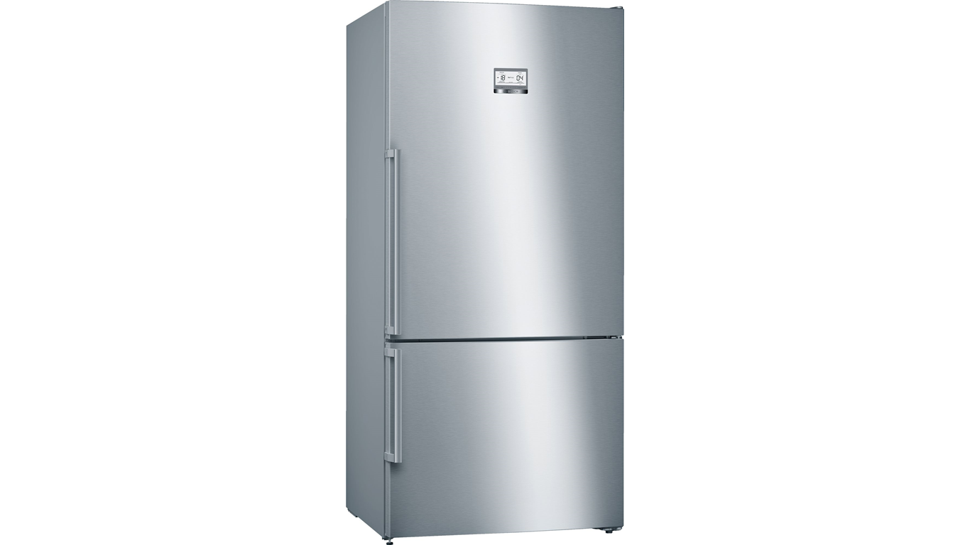 Bosch KGN86AID1N NoFrost Alttan Donduruculu XXL Buzdolabı Inox A+++,Buzdolapları Kategorisinde,Alttan Donduruculu Buzdolapları Ürünü.