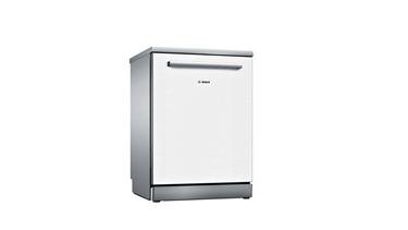 Bosch SMS4HMW60T Serie 4 Solo 6 Programlı Beyaz Bulaşık Makinesi