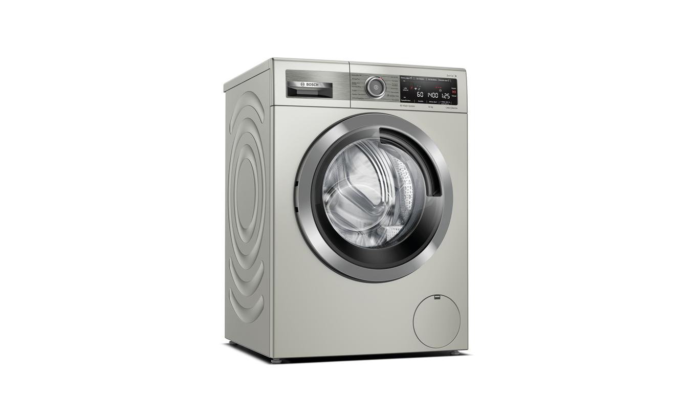 Bosch WAX28M8STR 10 kg 1400 Devir Silver Çamaşır Makinesi,Çamaşır Makineleri Kategorisinde,Çamaşır Makineleri Ürünü.