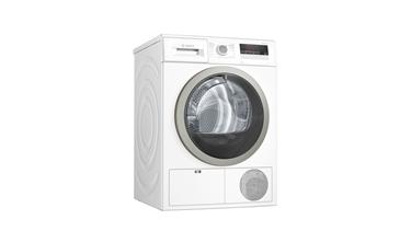 Bosch WTH85201TR 8 kg Isı Pompalı Beyaz Kurutma Makinesi