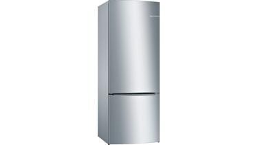 KGN57VI22N NoFrost, Alttan donduruculu buzdolabı Kolay temizlenebilir inox kapılar