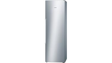 GSN36AI31 NoFrost, Çekmeceli derin dondurucu Kolay temizlenebilir inox kapılar