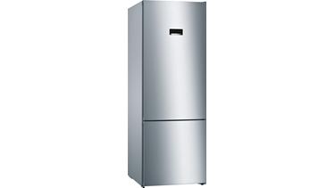 KGN56VI30N NoFrost, Alttan donduruculu buzdolabı Kolay temizlenebilir inox kapılar