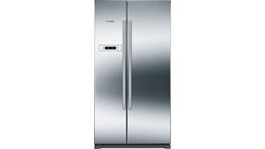 KAN90VI20N NoFrost, Gardırop Tipi Buzdolabı Kolay temizlenebilir inox kapılar
