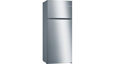 KDN53NL23N NoFrost, Üstten donduruculu buzdolabı Krom/Inox