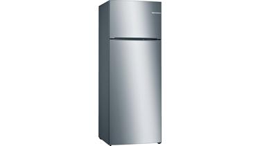 KDN56NI22N NoFrost, Üstten donduruculu buzdolabı Kolay temizlenebilir inox kapılar