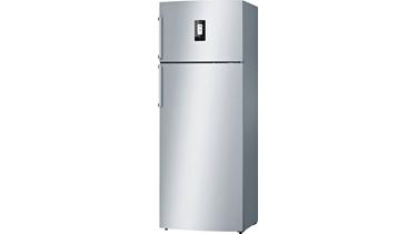 KDN56PI32N NoFrost, Üstten donduruculu buzdolabı Kolay temizlenebilir inox kapılar