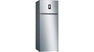 KDN56VI33N NoFrost, Üstten donduruculu buzdolabı Kolay temizlenebilir inox kapılar