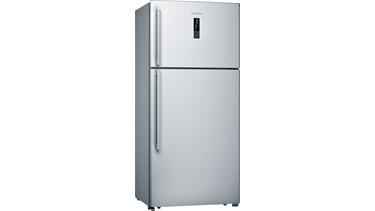 KDN65VI20N NoFrost, Üstten donduruculu buzdolabı Kolay temizlenebilir inox kapılar