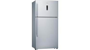KDN75VI30N NoFrost, Üstten donduruculu buzdolabı Kolay temizlenebilir inox kapılar