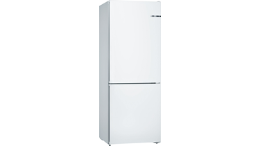 KGN46UW30N NoFrost, Alttan donduruculu buzdolabı Beyaz kapılar