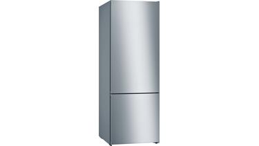KGN56IJ3AN NoFrost, Alttan donduruculu buzdolabı Kırmızı kapılar VarioStyle