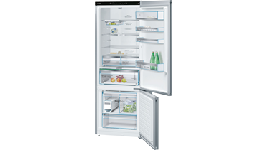 KGN56LM30N NoFrost, Alttan donduruculu buzdolabı Inox kapılar