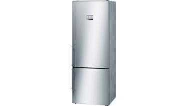 KGN56AI32N NoFrost, Alttan donduruculu buzdolabı Kolay temizlenebilir inox kapılar