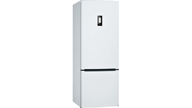 KGN57PW23N NoFrost, Alttan donduruculu buzdolabı Beyaz kapılar