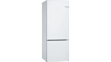 KGN57VW22N NoFrost, Alttan donduruculu buzdolabı Beyaz kapılar