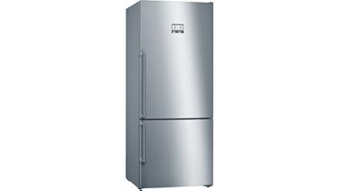 KGN76AI32N NoFrost, Alttan donduruculu buzdolabı Kolay temizlenebilir inox kapılar