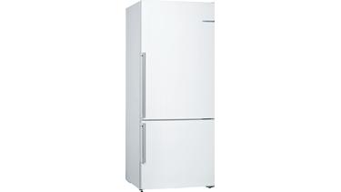 KGN76DW30N NoFrost, Alttan donduruculu buzdolabı Beyaz kapılar