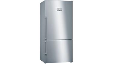 KGN86AI42N NoFrost, Alttan donduruculu buzdolabı Kolay temizlenebilir inox kapılar