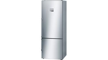 KGN56PI32N NoFrost, Alttan donduruculu buzdolabı Kolay temizlenebilir inox kapılar