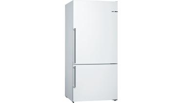 KGN86DW30N NoFrost, Alttan donduruculu buzdolabı Beyaz kapılar