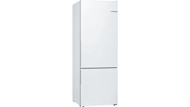 KGV58VW31N LowFrost, Alttan donduruculu buzdolabı Beyaz kapılar